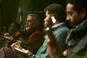 Nile Project concert in Al Azhar Park, Cairo, Egypt, 31 January, 2013.