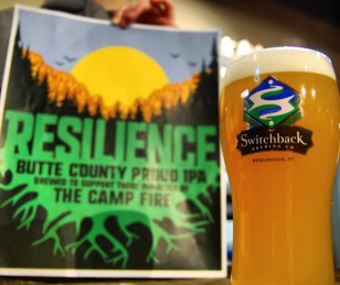 Switchback Brewing Resilience IPA