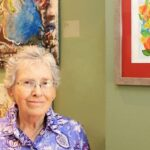Learning to Paint at Age 81: Joy Jaffe's Work to be Showcased at UVM