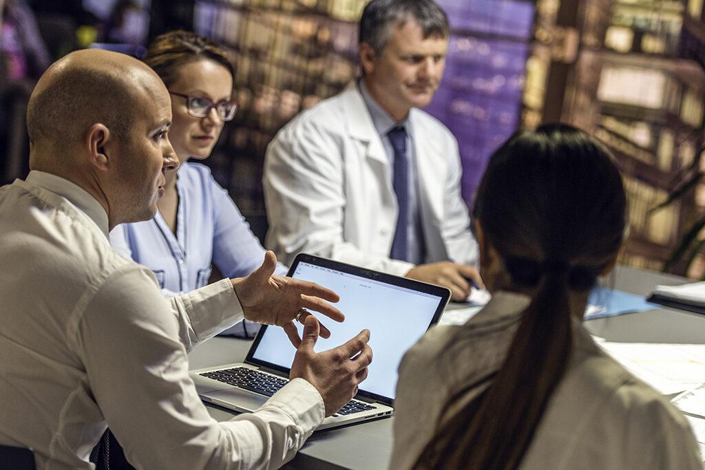 health care data driven management