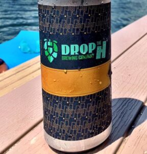 Drop the H Brewing Beer Can