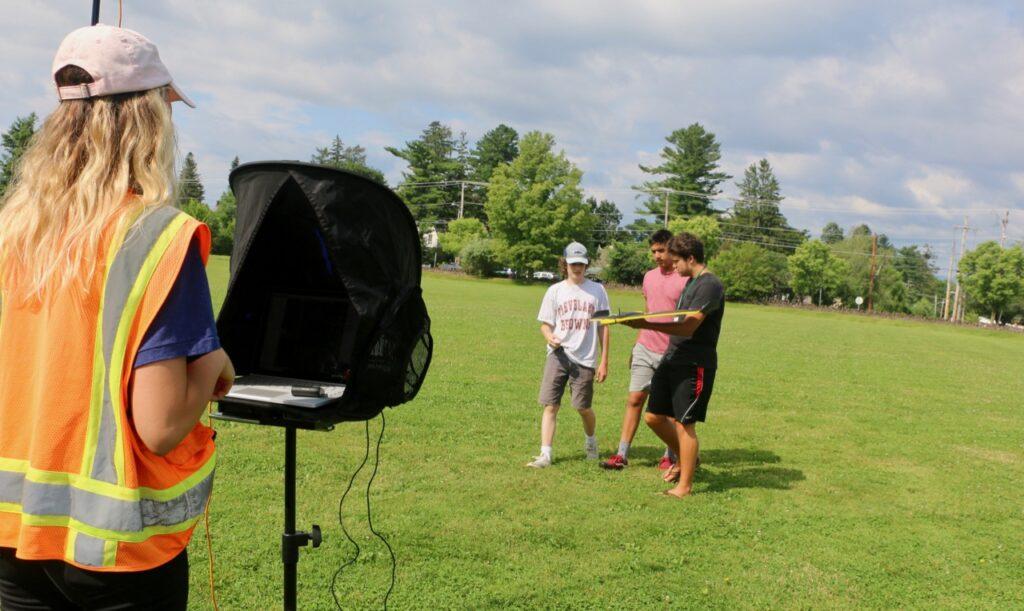 UVM Summer Academy drones