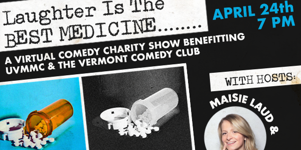 Post Bacc Premed Student Maisie Laud Create Virtual Comedy Event