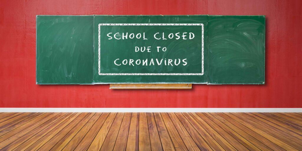 School closed due to Coronavirus