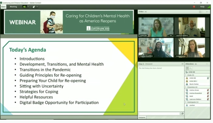 caring for children's mental health