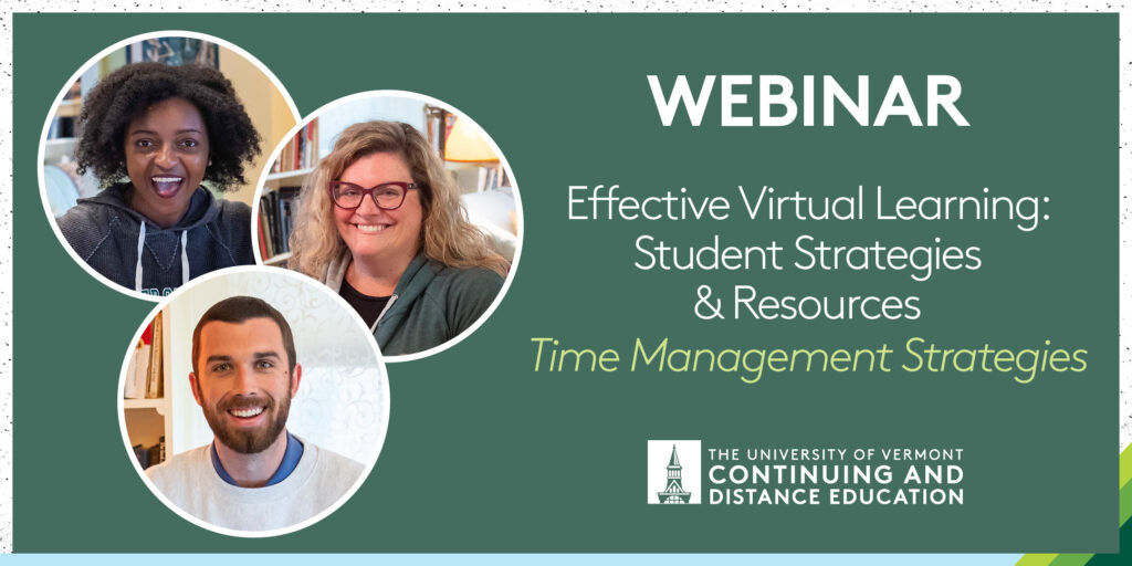 Effective Virtual Learning Time Management