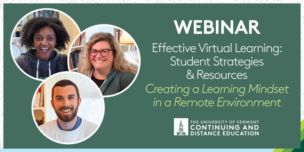 Effective Virtual Learning Creating a Learning Mindset in Remote