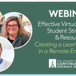 Effective Virtual Learning: Creating a Learning Mindset in a Remote Learning Environment