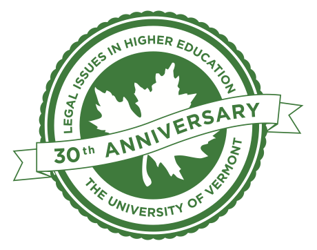 Legal Issues 30th Anniversary logo
