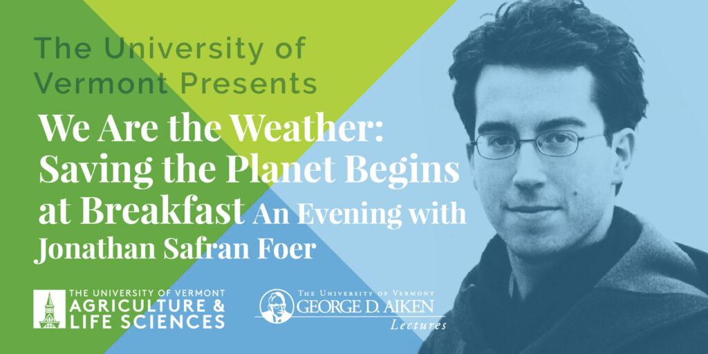 Aiken Lecture Series Jonathan Safran Foer
