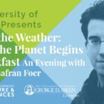 Author Jonathan Safran Foer Joins UVM for George D. Aiken Lecture Series