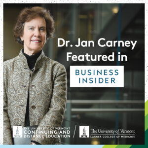 Dr. Jan Carney Featured in Business Insider