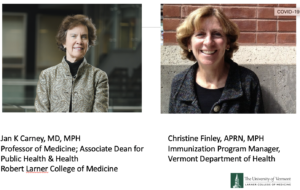 Dr. Jan Carney and Christine Finley talk about COVID-19 and Holiday celebrations