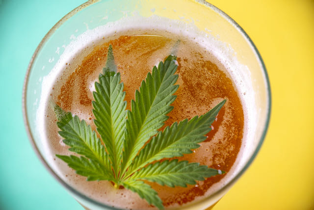 cannabis-infused craft beer