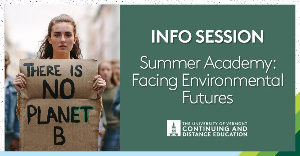 Summer Academy Facing Environmental Futures Course