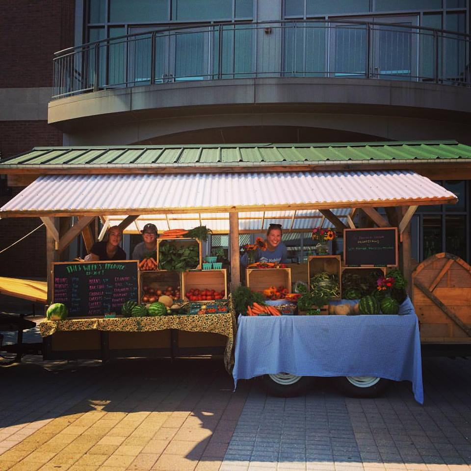 Uvm Farming Students Premiere Mobile Farm Stand On Campus