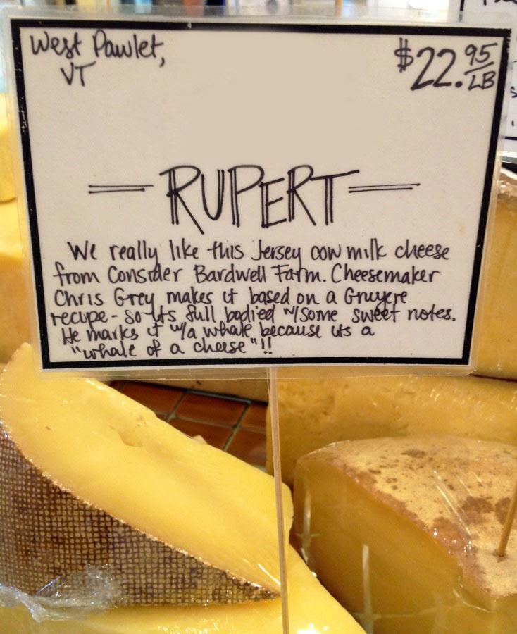 Rupert cheese
