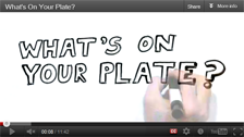 Video: What's On Your Plate?