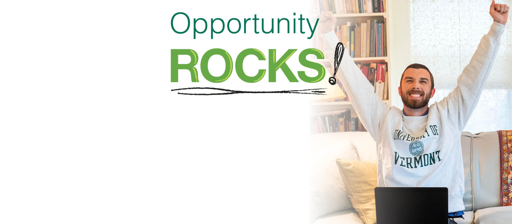 Opportunity Rocks at UVM Continuing and Distance Education