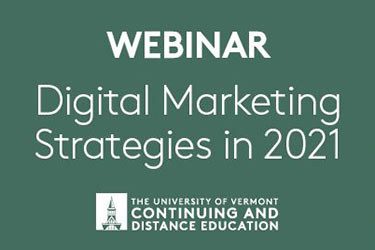 Digital Marketing Webinar tout