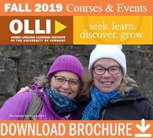 Osher Lifelong Learning Institute Fall 2019 Brochure
