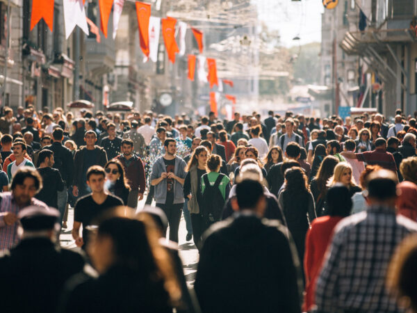 Picture of a crowded street