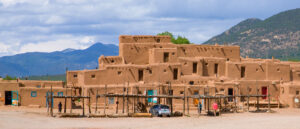 Picture of a historic building in New Mexico