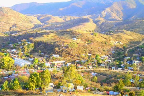 Oaxaca village photo