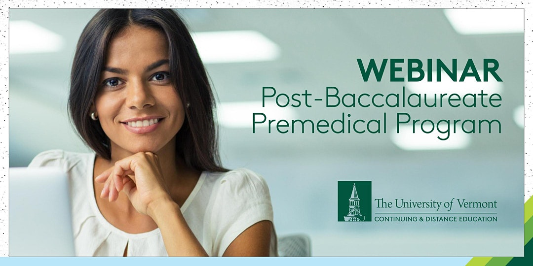 Post-Bac Webinar announcement