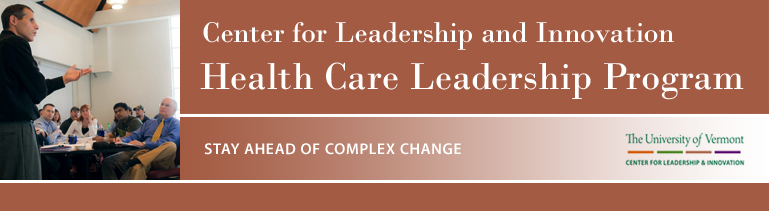 Health Care Leadership Program at the University of Vermont