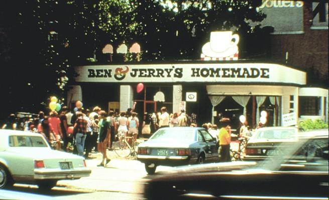 Photo Credit Ben & Jerry's 1978