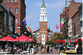 Burlington, VT - home to the UVM campus