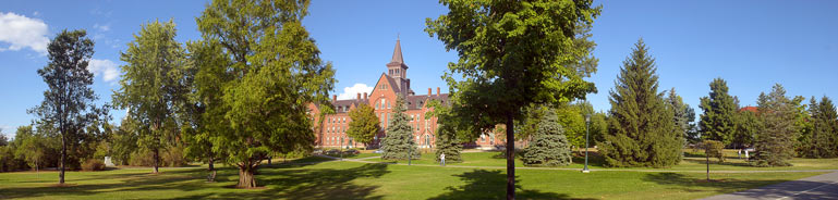 UVM Campus in Burlington Vermont