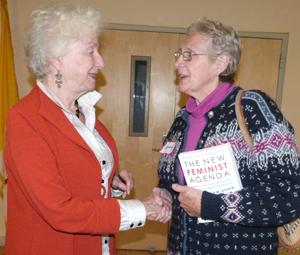 Former Vermont Governor Madeleine Kunin
