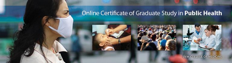 UVM Online Public Health Certificate